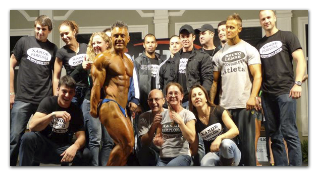 Medidas Antropométricas do Bodybuilder Alexandre Pamplona