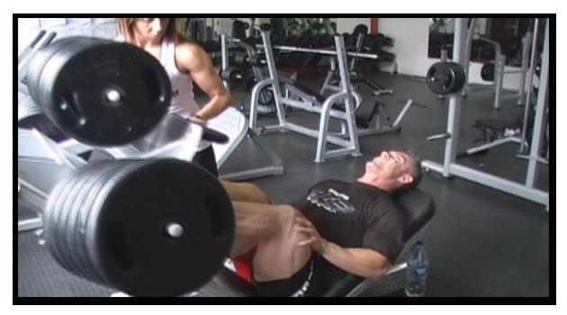 Treino de Quadríceps do Bodybuilder Alexandre Osmar Pamplona