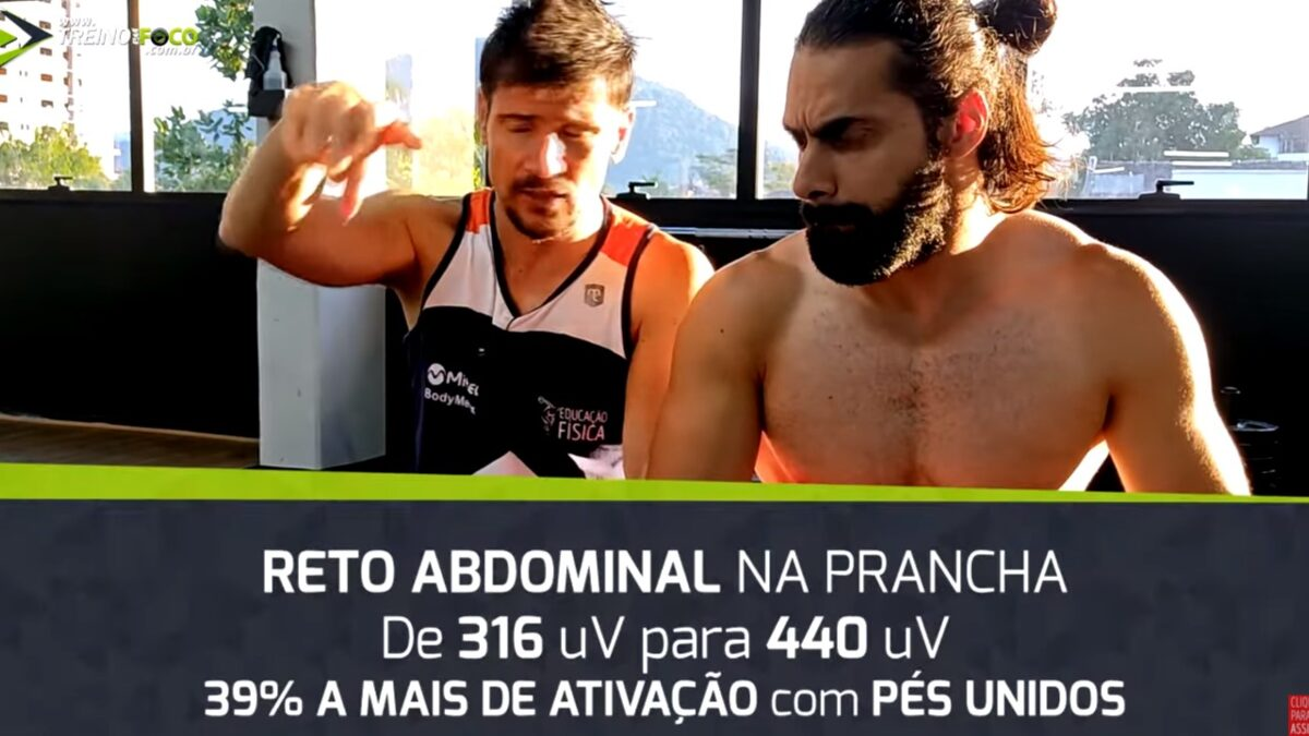 Treino_em_foco_posição_pé_prancha_abdominal_com_bola